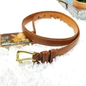 Coach | Vintage Genuine Leather British Tan Belt